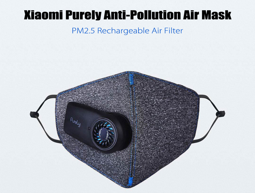 Xiaomi Purely Anti Pollution Air Sport Mask 3