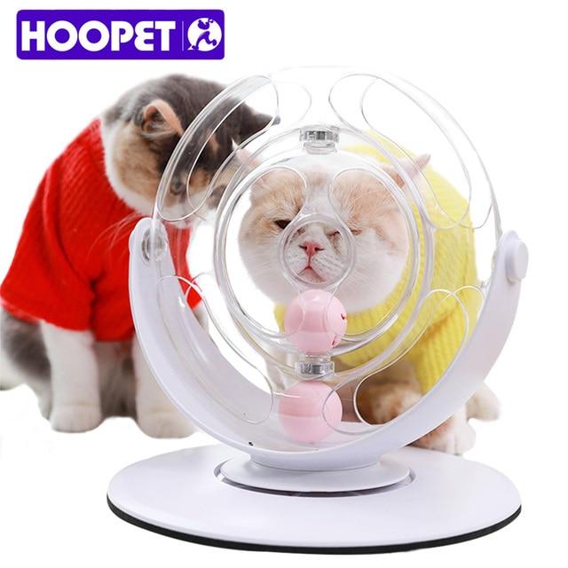 HOOPET แมวตลกแมวของเล่นลูกแมวเล่นแมวของเล่นสติปัญญาลูก Interactive PET อุปกรณ์เสริม