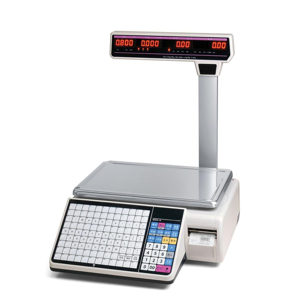 Best Price Good Quality Newest Thermal Label Printing 6KG Electronic Digital Weighting Scale HS-A01