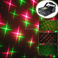 High Quality Mini 4 patterns Red Green Projector Laser Stage lights Disco DJ Club Xmas Shop Holiday Family Dace Party light B28