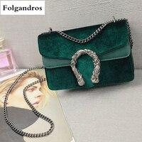 Luxury Brand Chain Casual Shoulder Messenger Bags Women Leather Bag Famous Locks Designer Handbags Ladies Flap