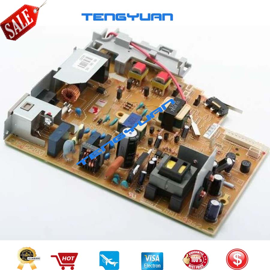 Free shipping 100% test original for HP M1005 Power Supply Board RM1-3942-000CN RM1-3942 (220V) RM1-3941-000CN RM1-3941 (110v)