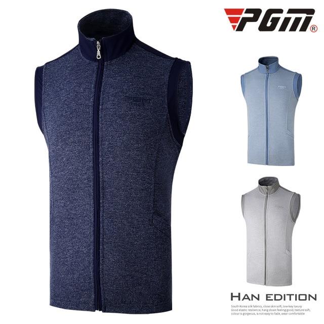 PGM гольф платье мужской жилет на осень-зиму теплый жилет ветрозащитная куртка
