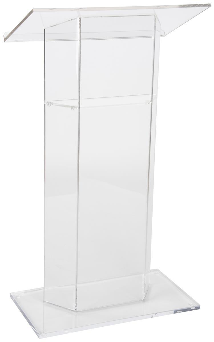 Favorites Compare Church Acrylic Podium/Clear Modern Stable Acrylic Acrylic Lectern Plexiglass