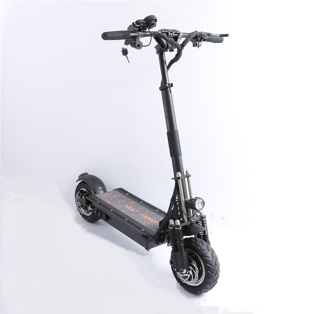 EU Stock UBGO 1005 Plus 52 V LG batterie Double pilote moteur puissant Scooter électrique 10 pouces e-scooter