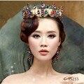 Colorful Queen Wedding Hair Accessories Rhinestone Korean Bridal Accessory Headband Cheap