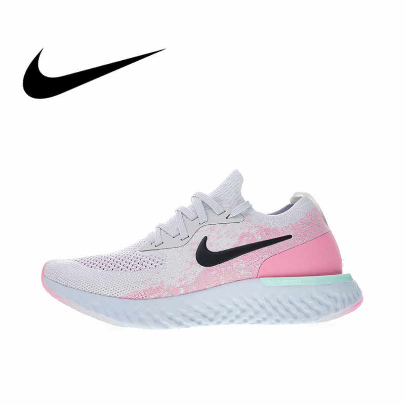 57eba434 NIKE EPIC REACT FLYKNIT Womens Running Shoes Sneakers Breathable Sport  Outdoor Athletic Designer Footwear 2018 New