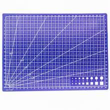 1 PCS A4 Raster Linien Schneiden Matte Handwerk Karte Stoff Leder Papier Bord Handgemachte Diy Zubehör Schneiden Platte