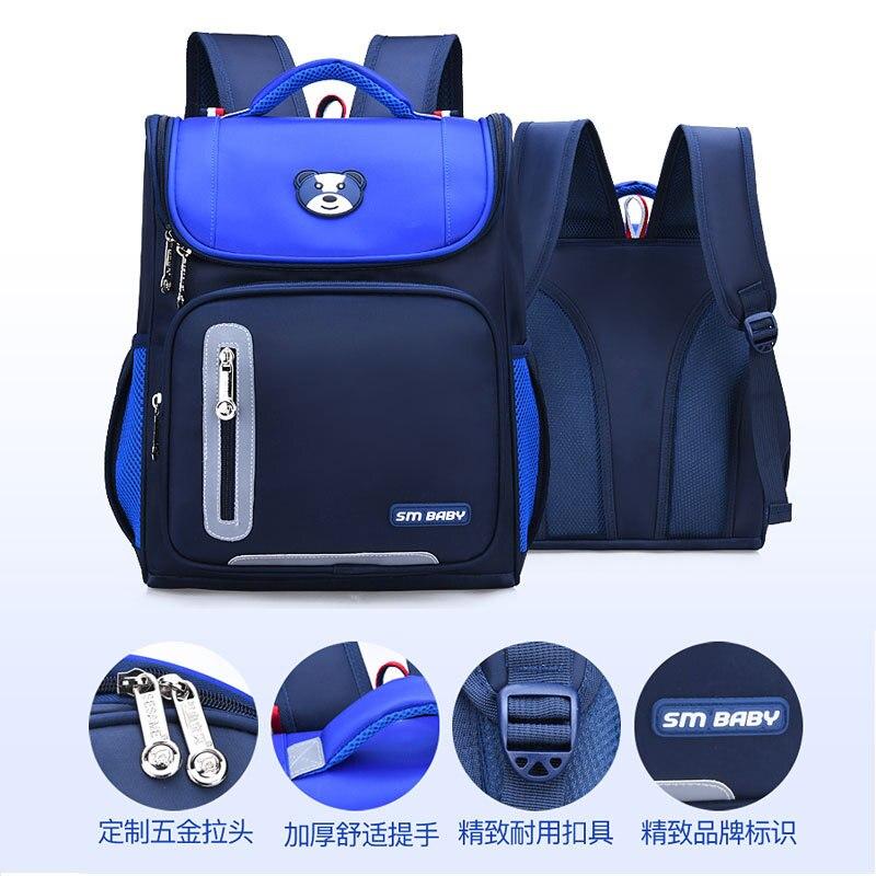 Children School Bags Girls kids Orthopedic Backpack schoolbag Waterproof Backpack primary school Bookbag Kids Satchel sac enfant in School Bags from Luggage Bags