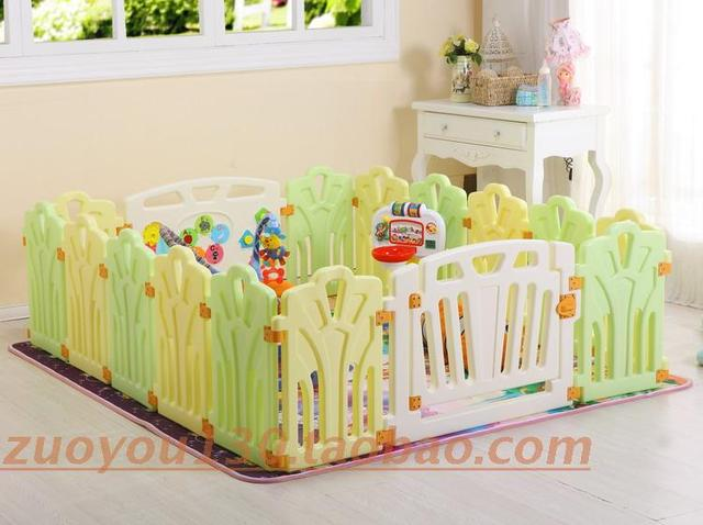 Child fence game fence playpen crib baby fence ice cream