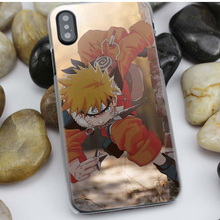 Naruto Haruno Sakura Hard Plastic Clear Case Cover for iPhone
