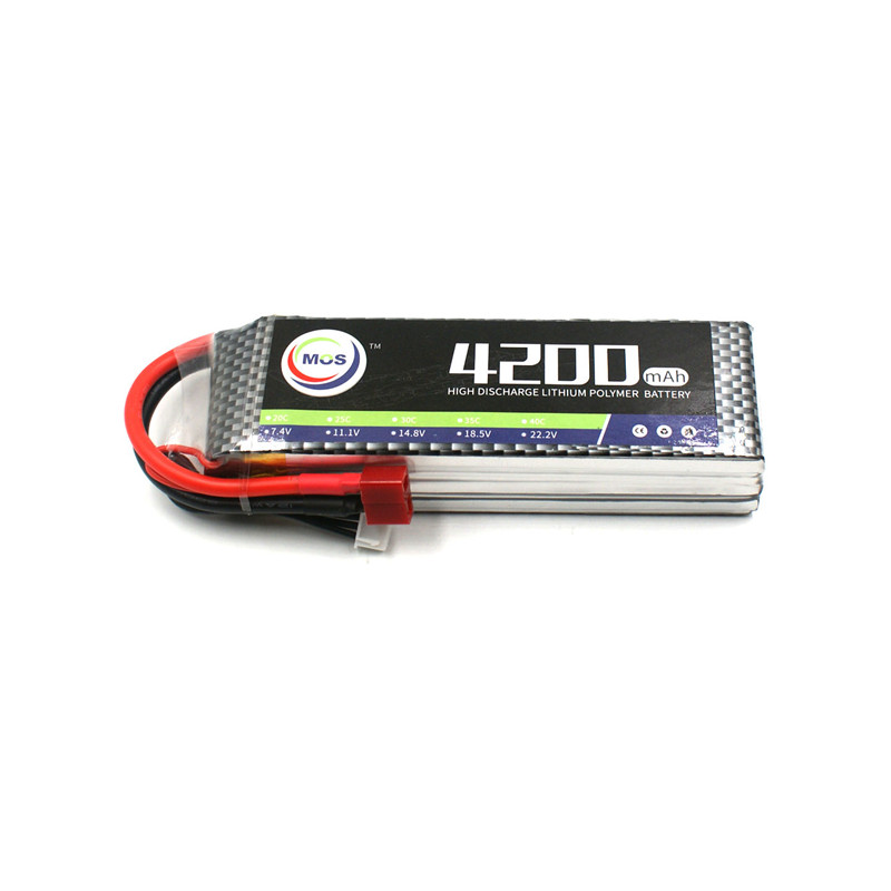 MOS 3S 11.1v 4200mah 30c RC LiPo Battery for RC Airplane Car Boat Li-Po Batteries AKKU Drone Free Shipping mos 2s rc lipo battery 7 4v 2600mah 40c max 80c for rc airplane drone car batteria lithium akku free shipping