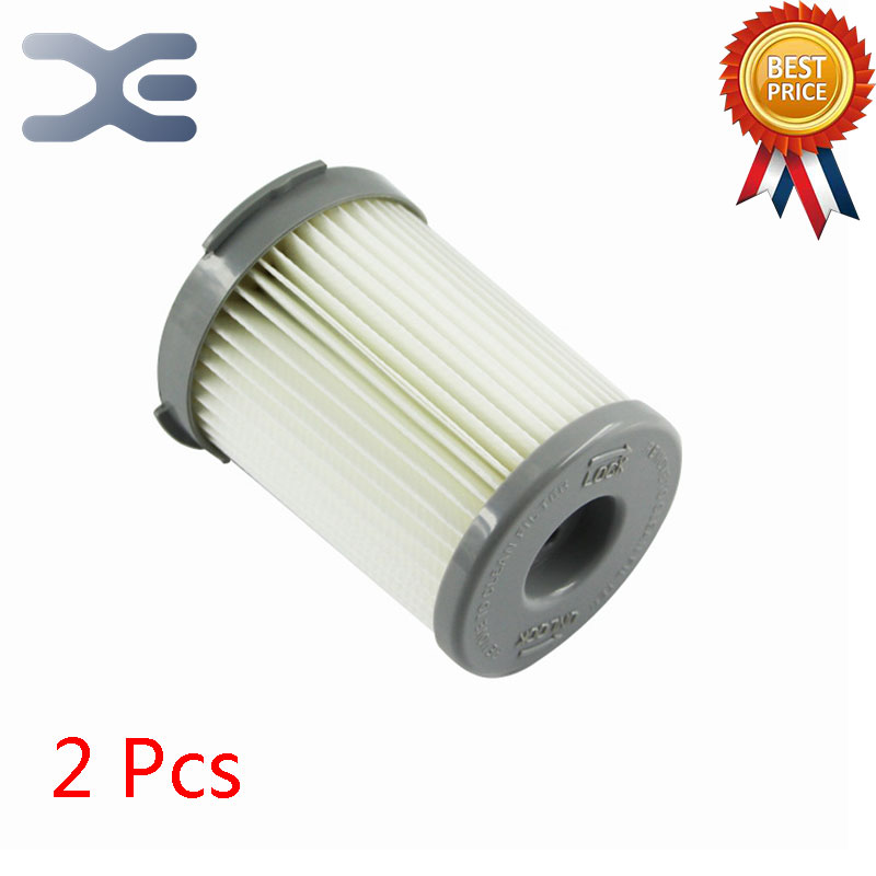 2Pcs Lot High Quality Compatible For Electrolux Vacuum Cleaner Accessories Filter HEPA Filter ZS203 / ZW1300-213 1 pcs vacuum cleaner cartridge pleated hepa filter ef75b replacement electrolux zs203 zti7635 zw1300 213 vacuum cleaner parts