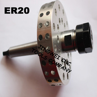 Flow Drill Tool Holder ER20 With Cooling Fan Form Drill Holder Flow Drill Holder With Heat