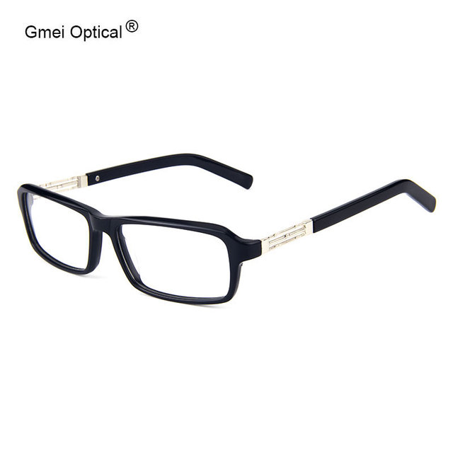 Clásico de Acetato Rectángulo/Mezcla De Plástico Lleno-Borde Marcos hombres Gafas Mujeres Marco de los Vidrios de Comodidad y Larga Durabilidad a largo plazo
