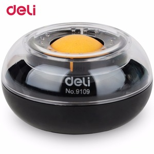 Deli wet hands with round ball
