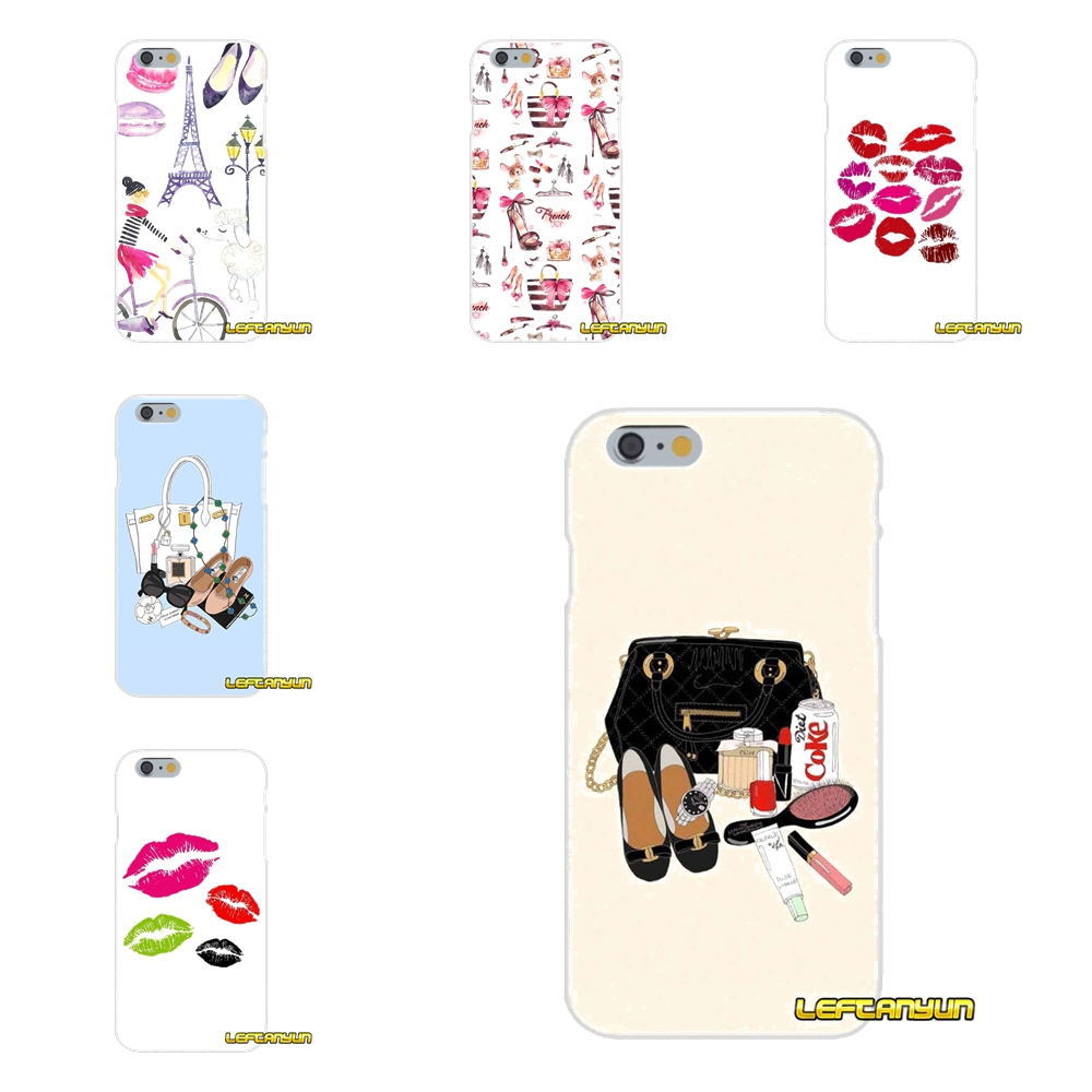 Woman fashion cosmetic bag Slim Silicone phone Case For Samsung Galaxy S3 S4 S5 MINI S6 S7 edge S8 Plus Note 2 3 4 5