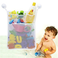 Mesh Net Bathroom Baby Bath Toy Hanging 1pcs Storage Bag Holder For Home