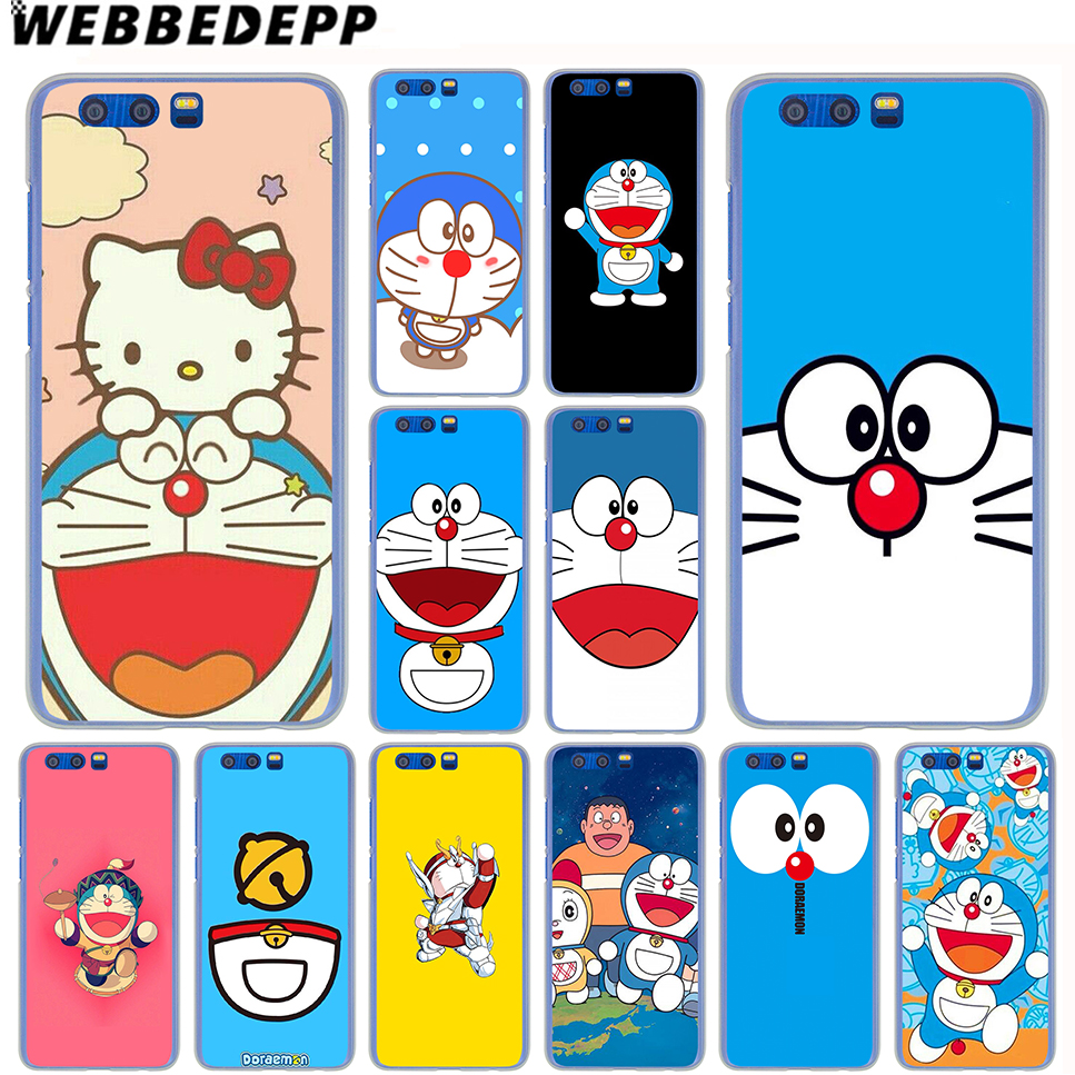 WEBBEDEPP Doraemon Cartoon Case for SamSung Galaxy A8(Plus)A7 A5 A3 2018 2017 2016 2015 & Grand Prime Note 8 5 4 3
