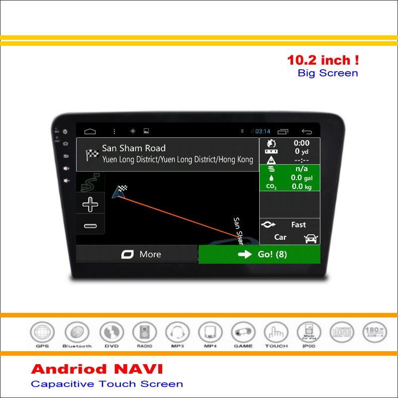 Android sistema de navegación gps del coche para volkswagen vw santana 2013 ~ -r