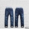 2017 de Alta qualidade KK-COELHO Grossas de Inverno Meninos Moda Calças Crianças Calças Meninas Do Bebê Crianças calças de Brim CP137