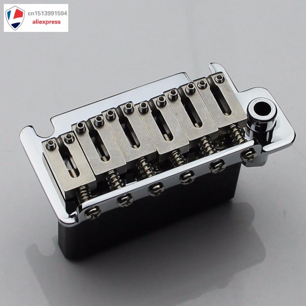 Nouveau pont de tréolo de guitare pour bloc en acier-Chrome BS184CR - 4