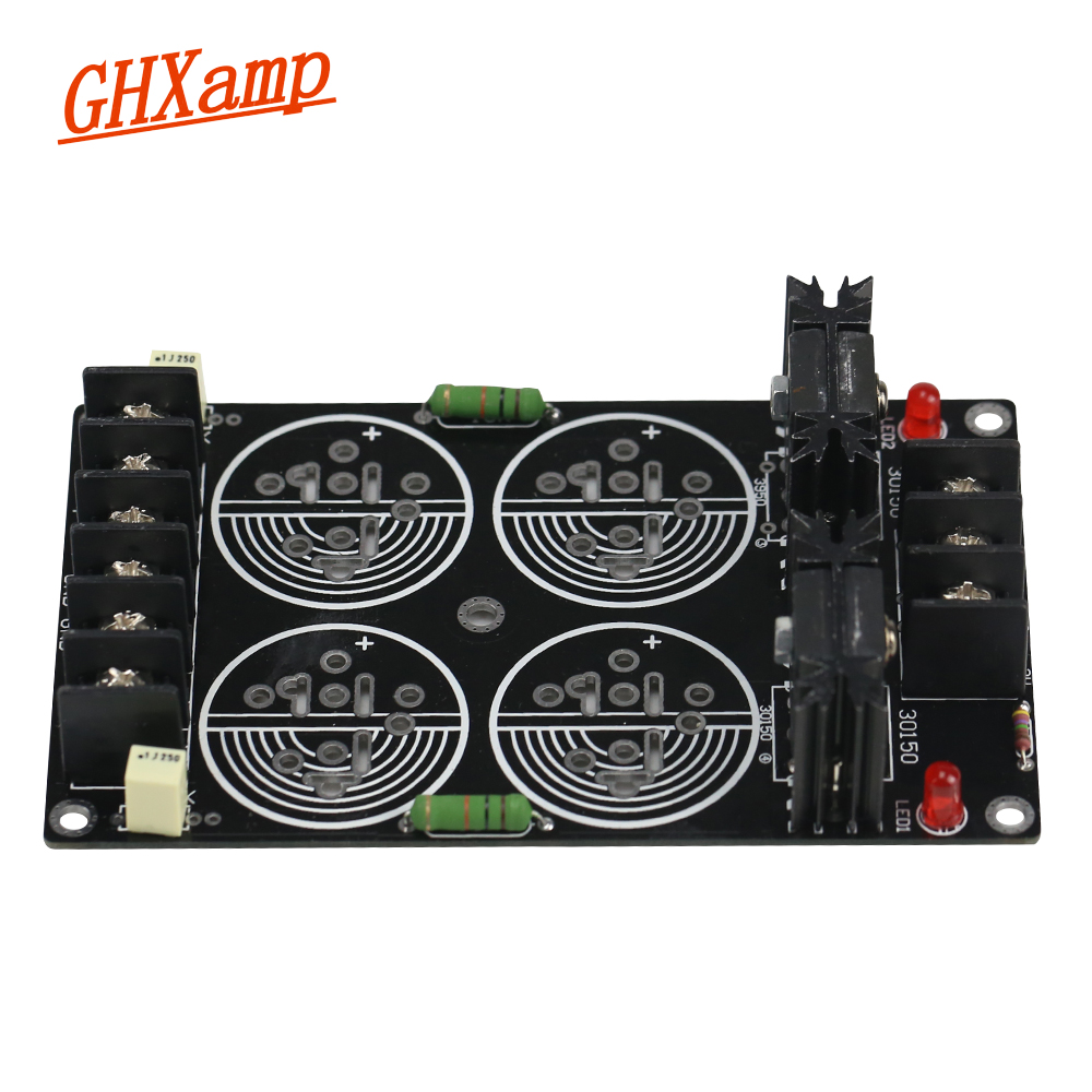 цена на Ghxamp 120A Rectifier Filter Power Supply Board Solder Schottky 35MM Capacitance Rectification Amplifier DIY