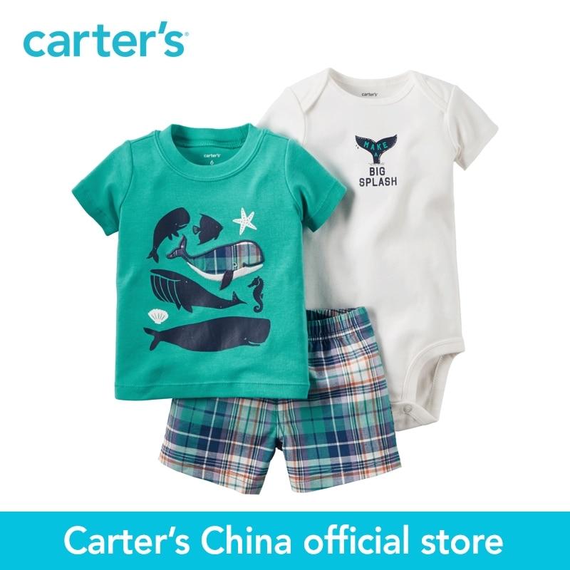 Carter s 3pcs baby children kids Little Short Set 121H349 sold by Carter s China official