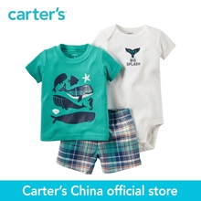 Carter's 3pcs baby children kids Little Short Set 121H349,sold by Carter's China official store