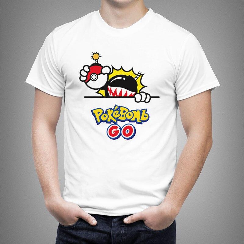 2019 Pokemon Go hommes T-shirt mode Pikachu couverture en coton Pikachu dans Thor armure imprimé t-shirts à manches courtes Hipster RTR