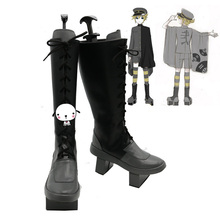 Anime Vocaloid Senbon Zakura LEN Cosplay Shoes Boots