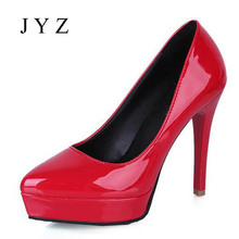 2017 New Fashion Womens High Heels Sexy Platform Pumps Party Wedding Shoes Lady aa0266