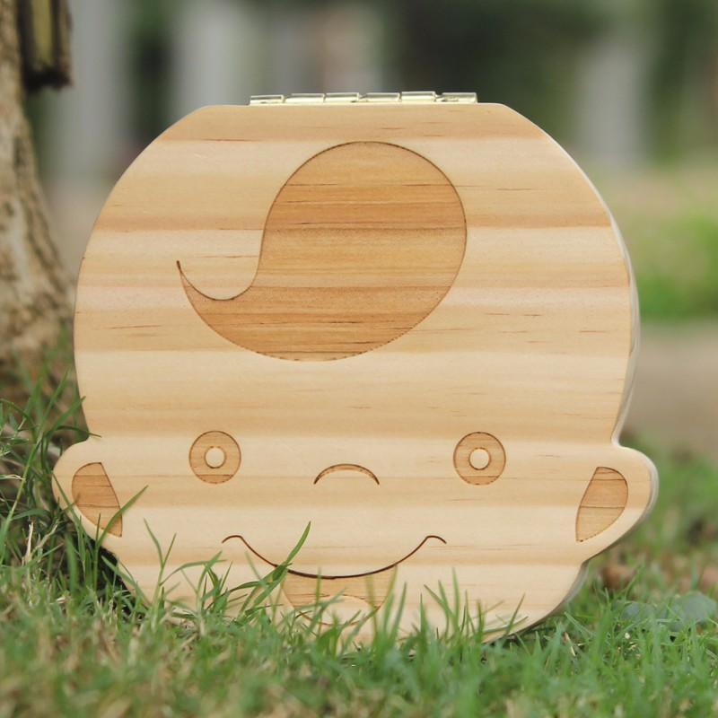 Free-Shipping-Baby-Tooth-Organizer-Lanugo-Hair-Save-Box-English-and-Spanish-Text-Pine-Wood-Kids (2)