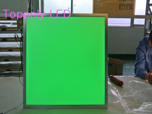 36w rgb full color led flat panel light 595x595mm+RF remote controller+AC100-240v power adapter embeded install CE&ROHS 6pcs/lot ac 100 240v led dmx512 rgb controller 86 glass touch panel rf 2 4g dmx512 signal dx3 for rgb led strip free shipping