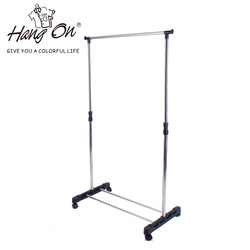 hot sales standing drying clothes rack single layer with stainless steel cheap and highi quality 300 109