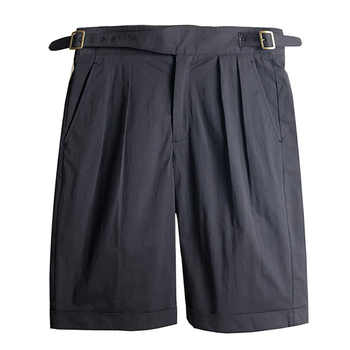 Classic British Army Gurkha Shorts Vintage Men's Chino Military Short Pants Summer pleated loose casual pants male army pants - DISCOUNT ITEM  38% OFF All Category
