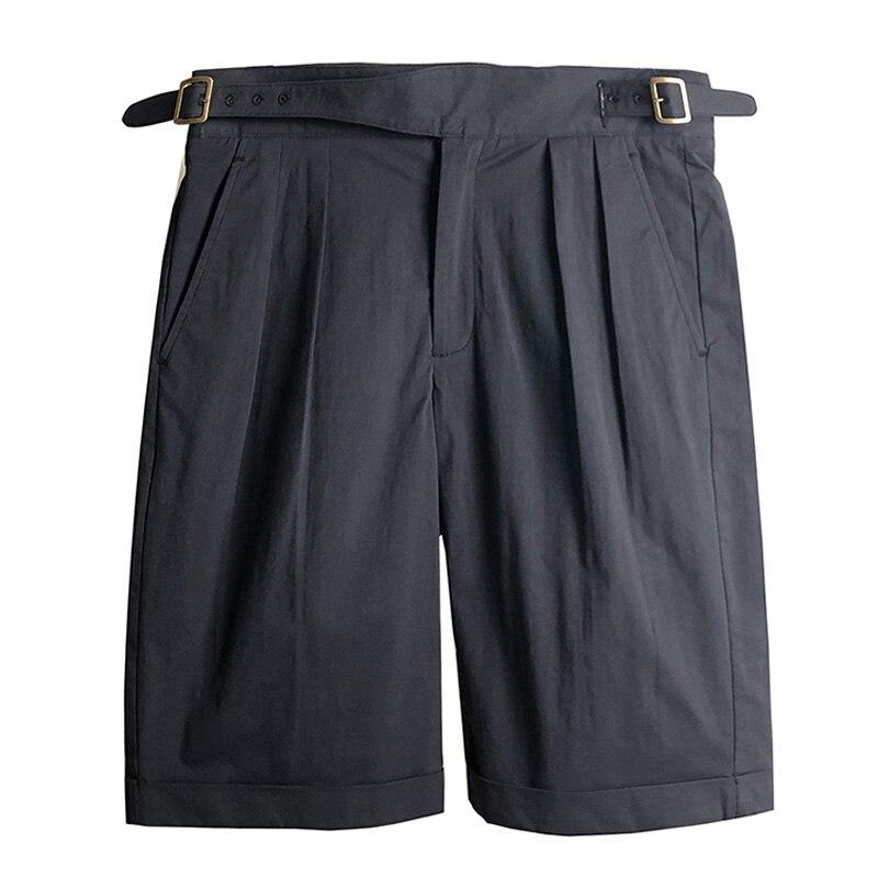 Grande taille Vintage armée britannique Gurkha Shorts hommes Chino militaire pantalons courts d'été plissé lâche pantalons hommes décontractés armée pantalon-in Shorts décontractés from Vêtements homme    1