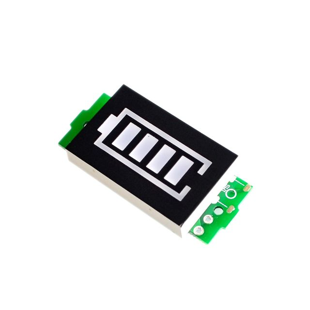 1S 2S 3S Single 12.6V Lithium Battery Capacity Indicator Module Blue Display Electric Vehicle Battery Power Tester Li-ion