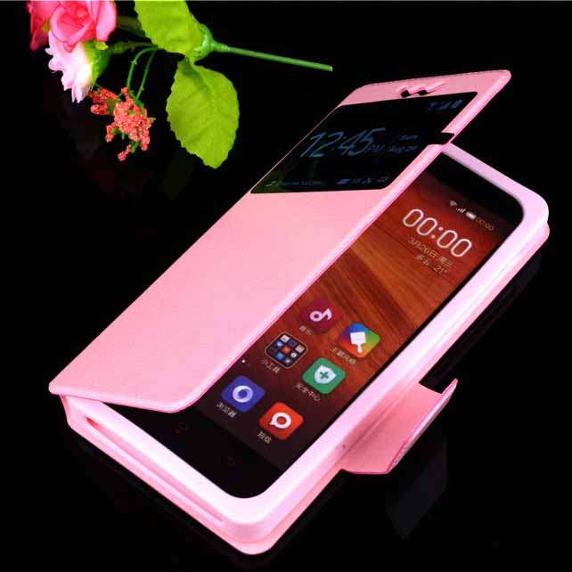 the best attitude d37e6 125af Micromax Canvas Blaze 4G Case cover leather 4.5 inch case for ...