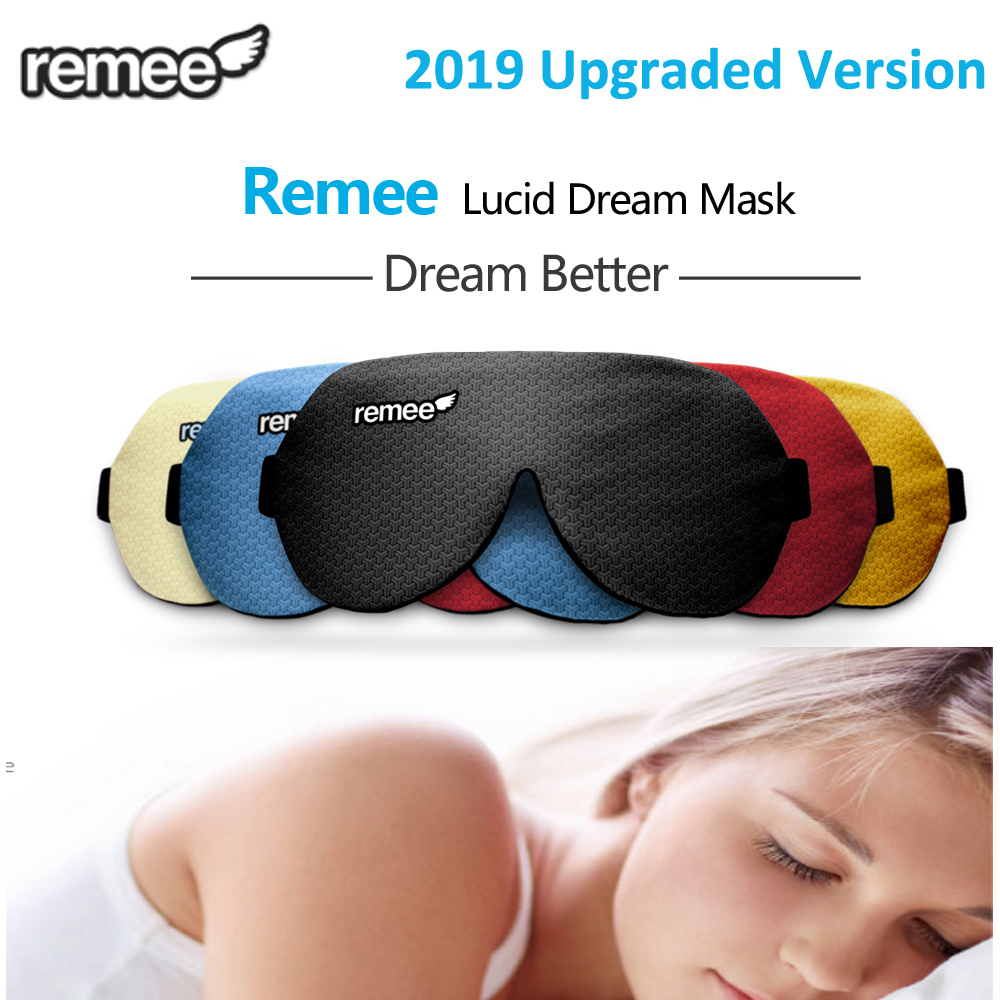 Smart Remee Lucid Dream Mask Dream Machine Maker Remee Remy Patch Dreams Masks Inception Lucid Dream Control(China)