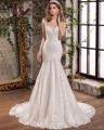 Dreagel Hot Sale Sweetheart Backless Mermaid Princess Wedding Dress 2017 Glamorous Lace Appliques Bridal Dress Vestido de Noiva