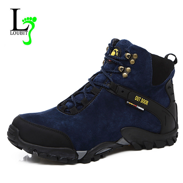 Men Boots Winter With Fur & Canvas Inside Warm Snow Boots Men Outdoor Boot Men Work Shoes Man Footwear Male Rubber Ankle Boots