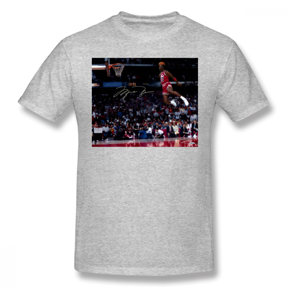 fb1ce6d93209fa Slam Dunk T Shirt Michael Jordan Slam Dunk T Shirt Plus size Print Tee Shirt  Cotton Fashion Mens Short Sleeves Funny Tshirt-in T-Shirts from Men s  Clothing ...