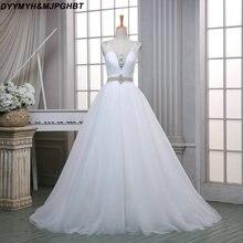 DYYMYH&MJPGHBT 2018 Wedding Dresses Cut Out Bridal Gowns
