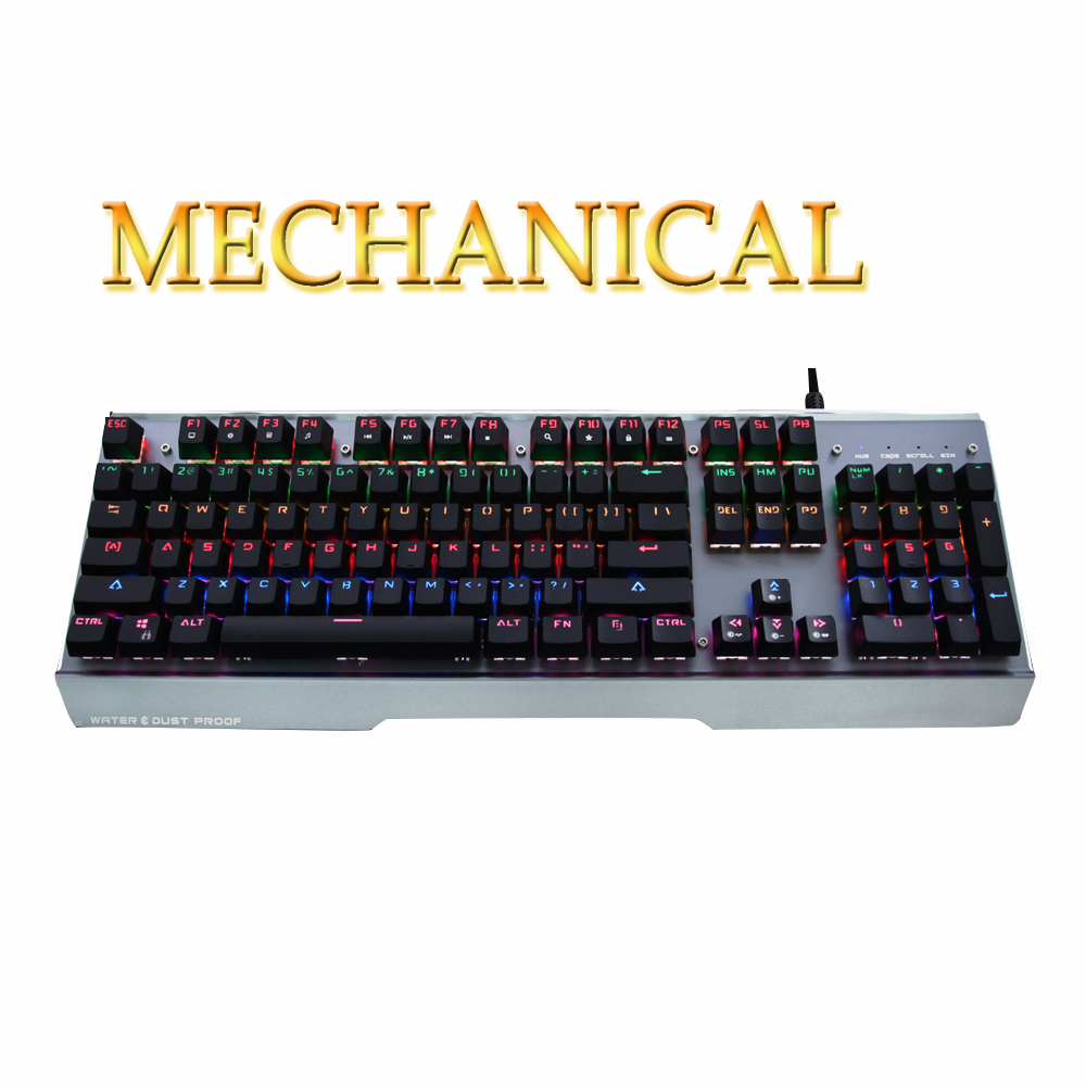 Free Shipping TRUE Mechanical Keyboard Backlight Cable Mechanical BLUE SWTICHES Gaming Keyboard WOW Gaming Keyboard water resist logitech g910 gaming keyboard mechanical keyboard cable machine professional programmable keyboard with backlight keyboard