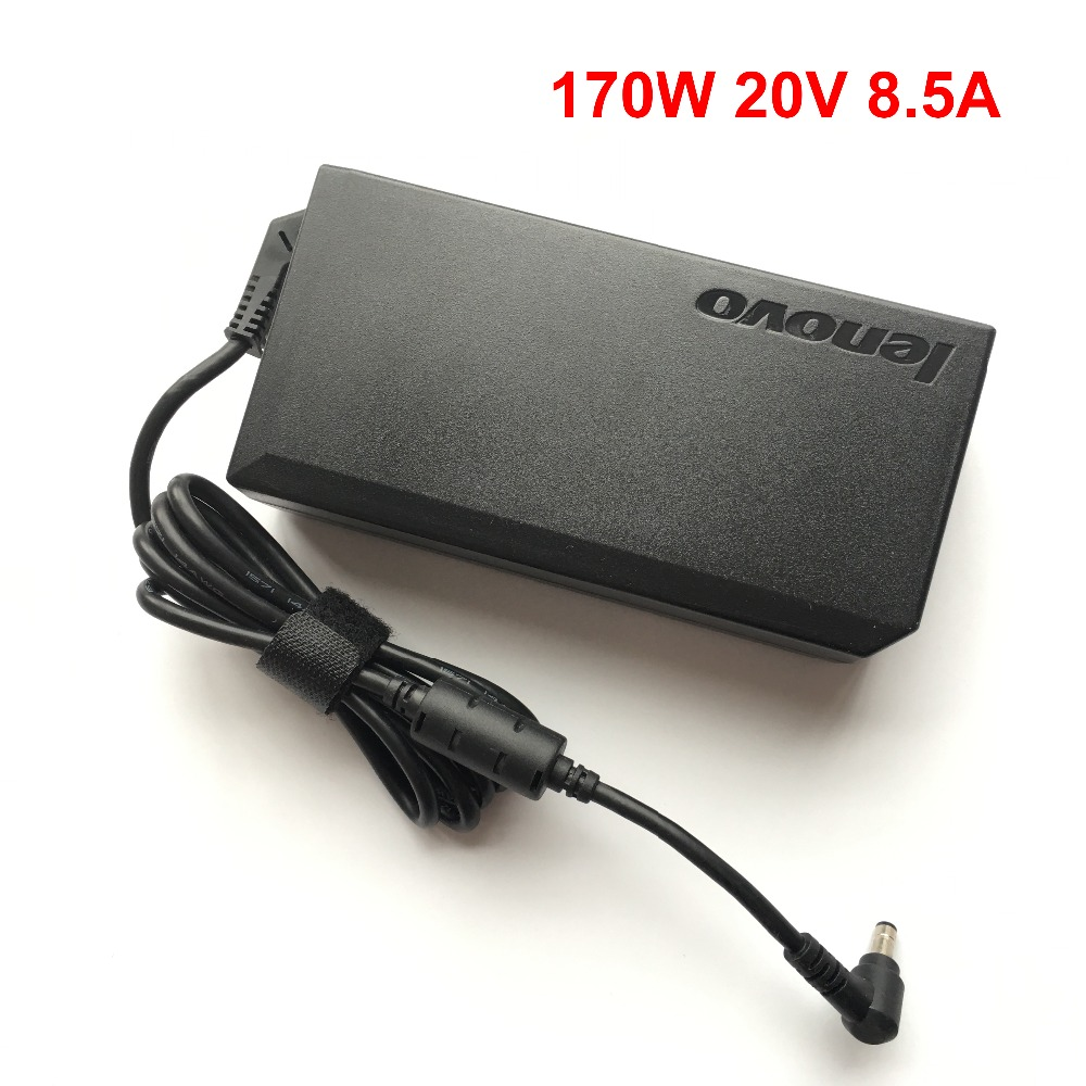 New Original 20V 8.5A 170W Laptop AC Power Charger Adapter For Lenovo Y410P Y500 Y500N Y560 Y510P Notebook new original 170w 20v 8 5a ac laptop charger adapter power supply for lenovo thinkpad w530 w520 laptop 3 pin