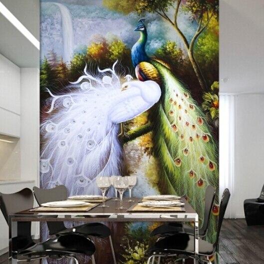 Grote Foto Op Muur.Grote Muur 3d Europese Grote Muurschilderingen Behang Slaapkamer