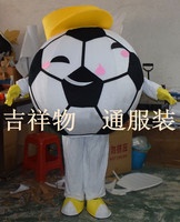 High Quality Adult Football Mascot Costume with Hat Free Shipping Mascot Costumes for Sale for Halloween Party Sport Events
