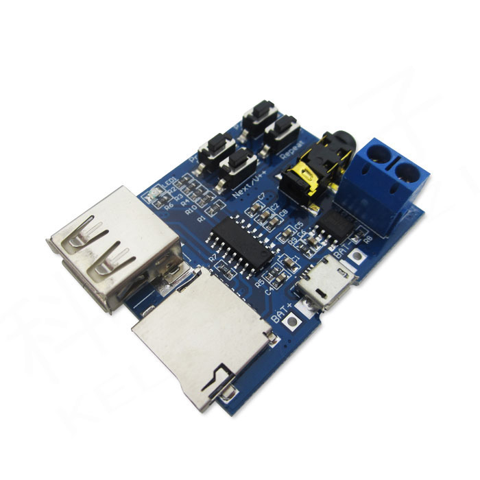 1pcs TF card U disk MP3 Format decoder board module amplifier decoding Player dc 5v bluetooth audio receiver module usb tf sd card decoding board preamp output support fat32 system