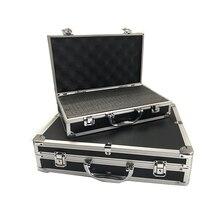 Алюминиевый ящик для инструментов, портативное защитное оборудование, чехол для инструмента, чехол для костюма, многофункциональный профиль, ящик для инструментов, аппаратный чехол для инструмента с пенопластом